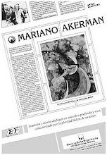 "Photo: Buenos Aires, Banco de la Provincia de Buenos Aires, ""Artes Plásticas: Mariano Akerman,"" solo-exhibit catalog, November-December 1990 http://akermariano.blogspot.com/2012/12/mariano-akerman.html"