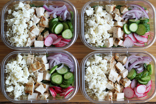 Protein Box Lunches with Chicken and Quinoa