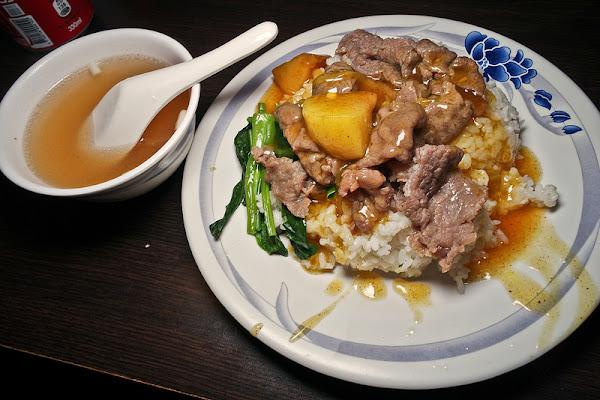 老友記粥麵飯館,忠孝敦化港式粥飯美味,老店就是好吃