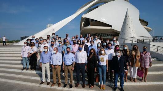 El Partido Popular de Vera apoya a Pablo Casado en la Convención Nacional