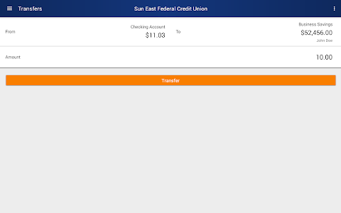 Sun East Federal Credit Union screenshot 7