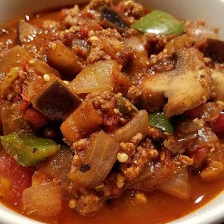 Turkey Veggie Chili.