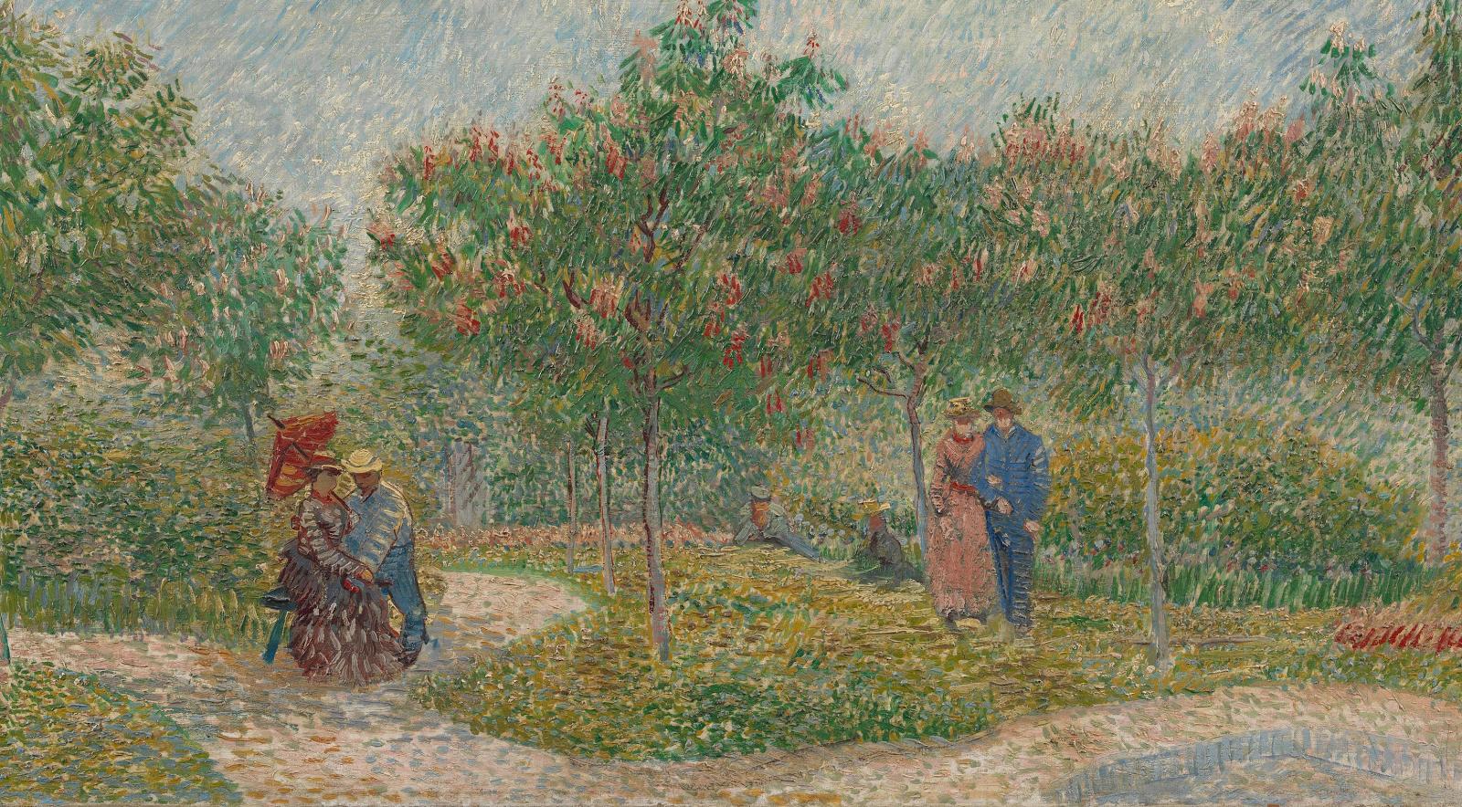 Looking For Contrast Van Gogh Museum