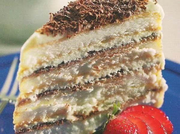 Angel Food Tiramisu