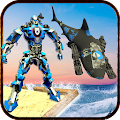 US Navy Underwater Robot Shark Transform Game