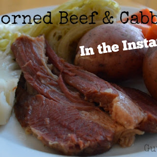 Corned Beef & Cabbage - In the InstantPot