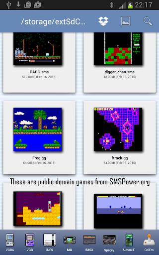 MasterGear - MasterSystem & GameGear Emulator screenshots 6
