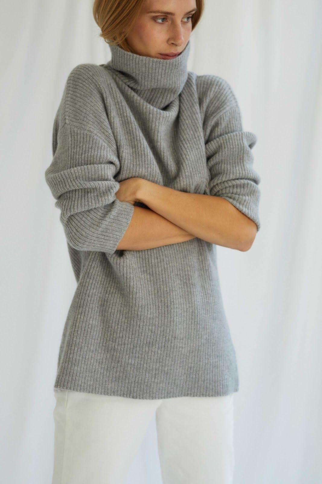 Oversized Rib Sweater