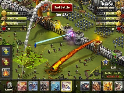 Throne Rush MOD Apk (Unlimited Money) 9