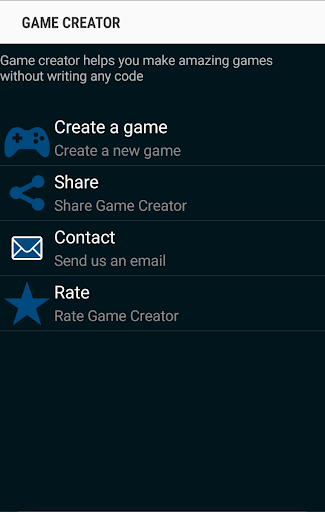 Download Game Creator Apk Latest Version » Apps and Games on Android