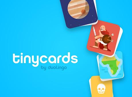 Tinycards – Fun Flashcards by Duolingo