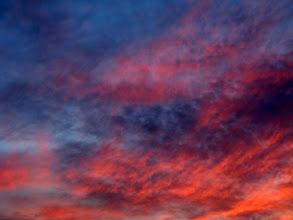 Photo: Last august sunset