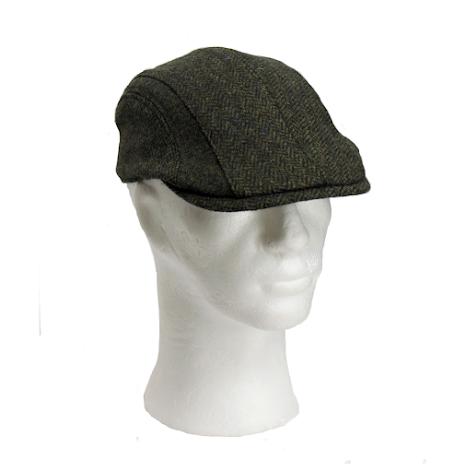 Barbour Herringbone Tweed Cap