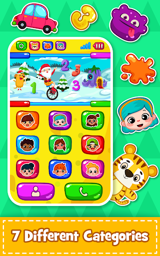 Baby Phone for toddlers - Numbers, Animals & Music apkpoly screenshots 6