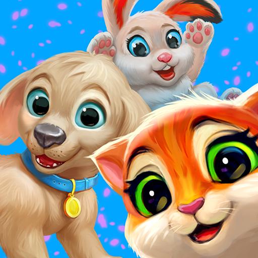 Garden Pets: Match-3 Dogs & Cats
