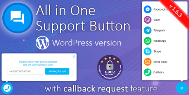 All-In-One Support Button