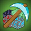 ⛏ Tap mining - Block Mining Idle icon