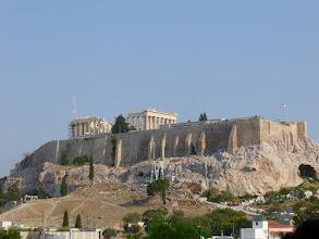 Photo: L'Acropole et le le Parthénon