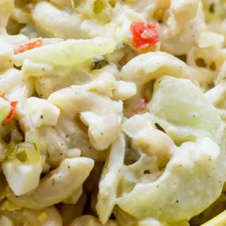 Cucumber and Egg Macaroni Salad
