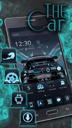 Neon car Theme screenshots 2