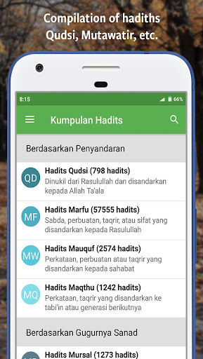Ensiklopedi Hadits - Muslim guidance after Alquran  screenshots 5