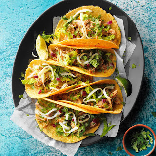 Baja Pork Tacos.