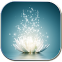 Magic water lilies icon