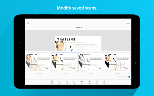 Adobe Scan: PDF Scanner with OCR, PDF Creator screenshot 13