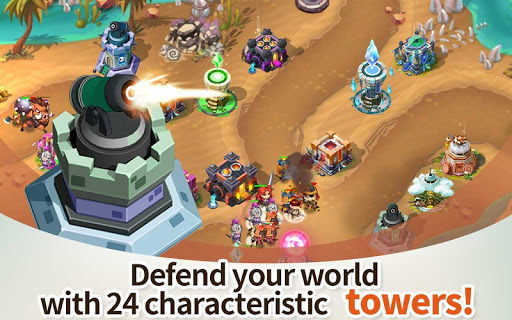 Hero Defense King 1.0.3 screenshots 2