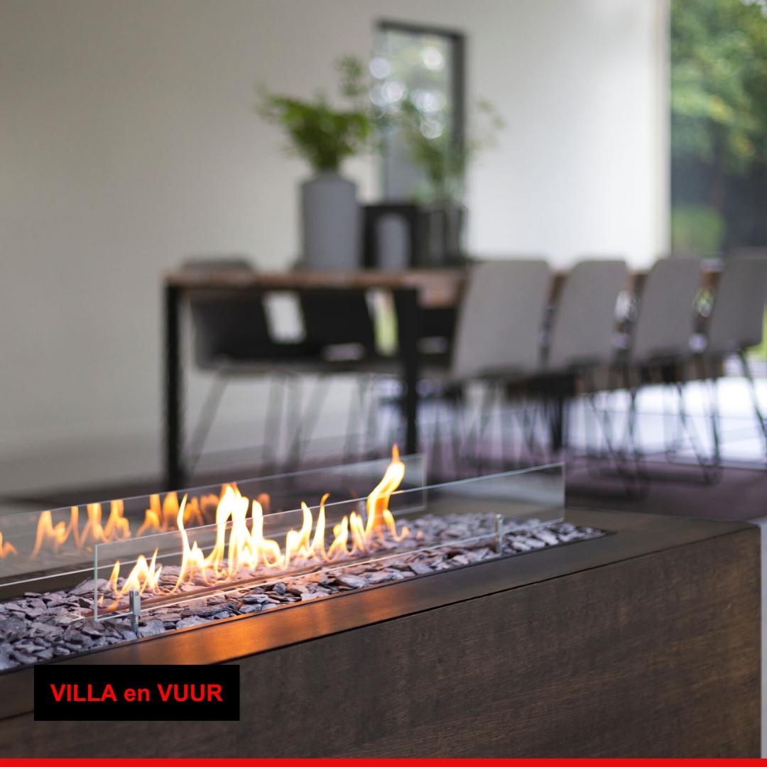 bio-ethanol haard van iBio Design bij Villa en Vuur verwarmingsspecialist