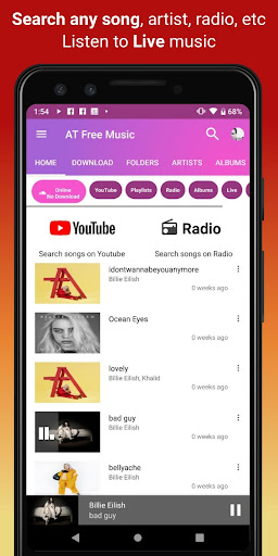 Download music, Free Music Player, MP3 Downloader 1.121 screenshots 4