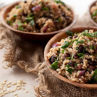 Black Beans and Rice.