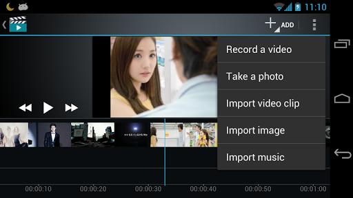 صانع الفيلم محرر الفيديو screenshot 7