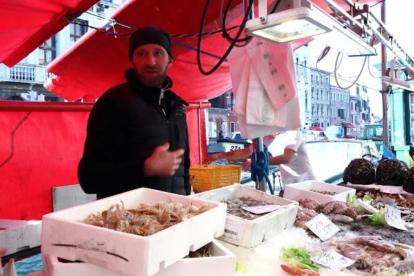 Mercato del pesce a Cannaregio di Andrea F