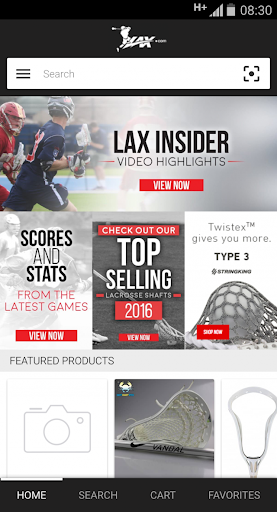 Lax.com screenshot 1