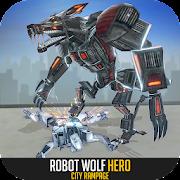 Robot Wolf Hero: City Rampage