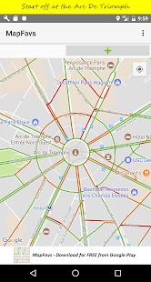 MapFavs - náhled