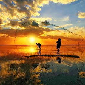 Morning Activity by Alit  Apriyana - Landscapes Sunsets & Sunrises