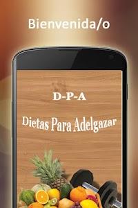 Dietas Para Adelgazar screenshot 0