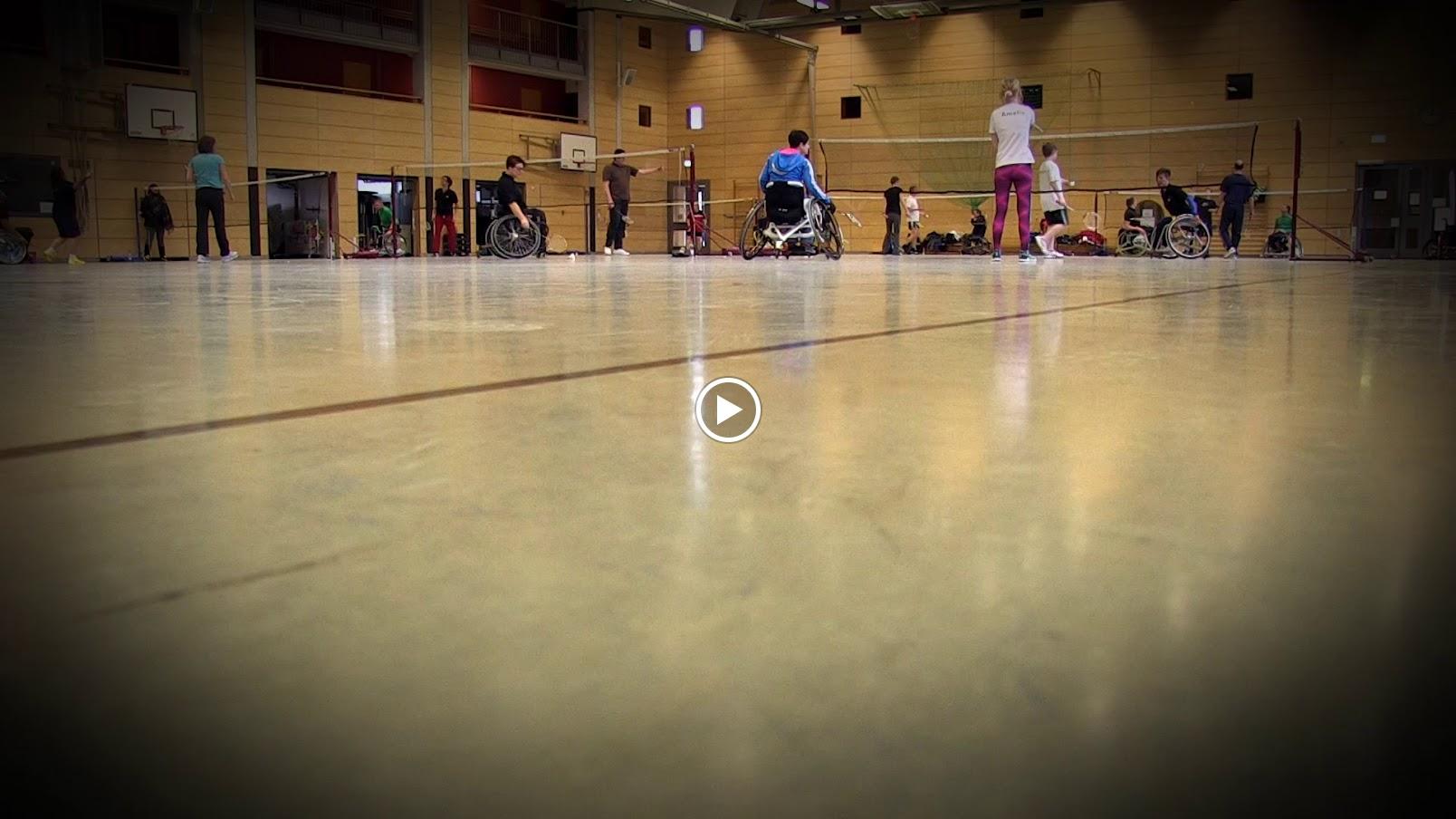 Roll-and-go – integratives Badminton mit und ohne Rollstuhl für jedermann vom 14./15.01.2017