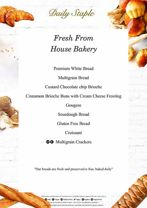 August Cafe menu 3