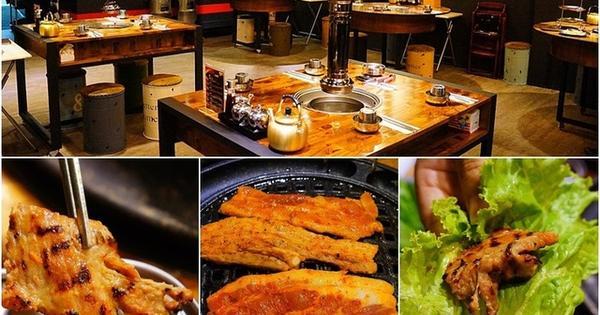 大口吃肉,小菜吃到飽!韓哆路韓式燒烤