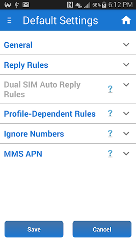 Safe Driving + Auto SMS + TTS Screenshot