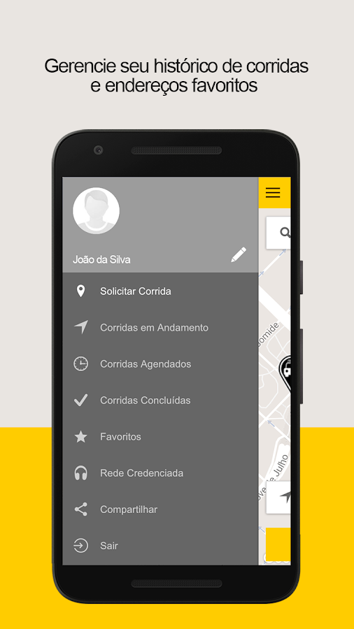 Ligue taxi - TaxiDigital: captura de tela