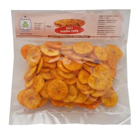 Banana Chips Spicy 150g Amutha