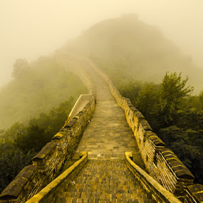 慕田峪长城 by Liqiang Huang - Buildings & Architecture Public & Historical ( great wall, fortification, beijing, china )