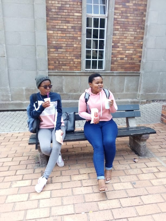 Buhle Sweleni and Lugalo were classmates at Wits.