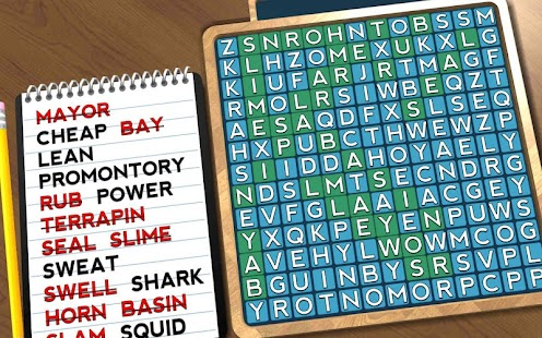 Wordsearch Revealer - Sea Life- screenshot thumbnail