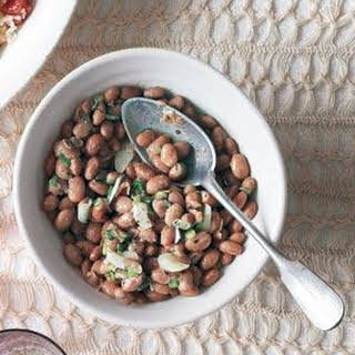 Garlicky Pinto Beans.