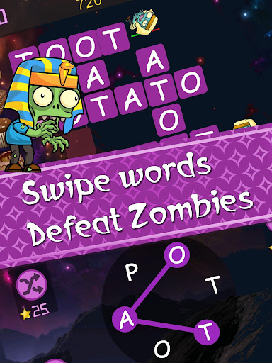 Words vs Zombies - fun word puzzle game android2mod screenshots 8